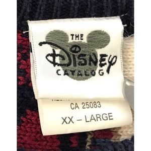 Disney Sweaters - VTG Disney Coogi Style Mickey Mouse Knit Sweater